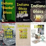 Six Indiana Glass Catalogs